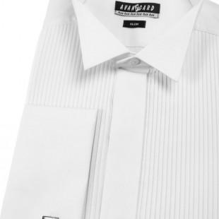 Pánská košile FRAKOVKA SLIM MK , v1-bílá