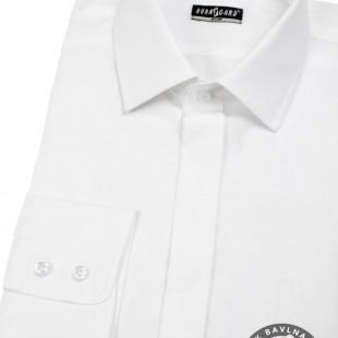 Pánská košile SLIM kr.léga, bílá