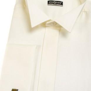 Pánská košile FRAKOVKA SLIM MK, v2-smetanová