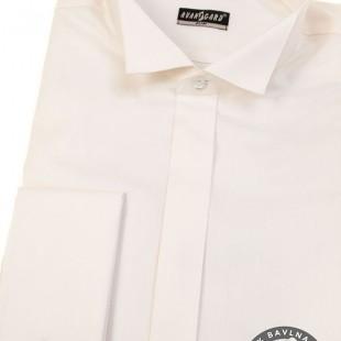Pánská košile FRAKOVKA SLIM MK, smetanová