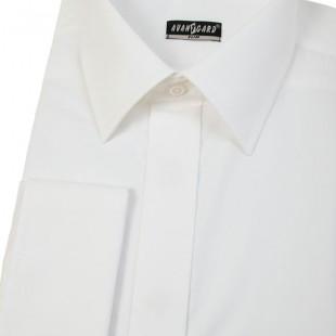 Pánská košile SLIM kr.léga, MK, smetanová