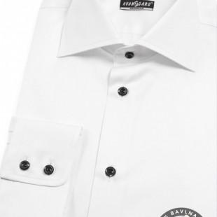 Pánská košile REGULAR dl.rukáv, bílá