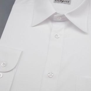 Pánská košile KLASIK s dl.ruk., v1-bílá