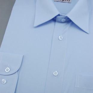Pánská košile KLASIK s dl.ruk., v15-světle modrá