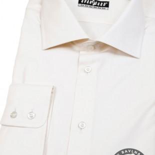 Pánská košile KLASIK dl.rukáv, smetanová