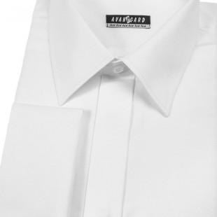 Pánská košile KLASIK kr.léga, MK, bílá