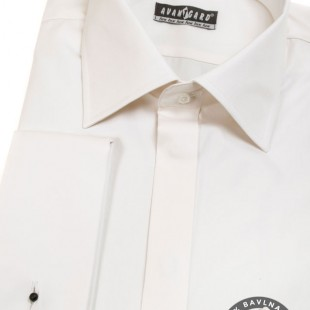 Pánská košile AVANTGARD LUX MK, smetanová