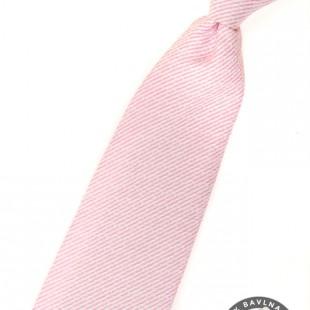 Chlapecká kravata, růžová