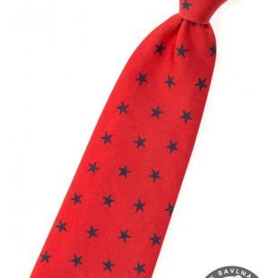 Chlapecká kravata, červená