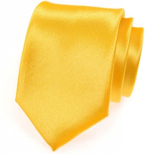 Kravata AVANTGARD, žlutá