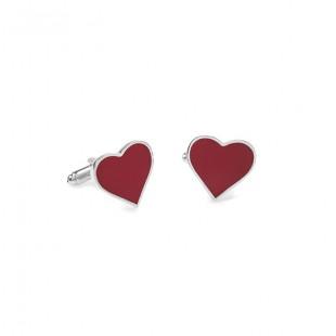 Manžetové knoflíčky AVANTGARD LUX, srdce