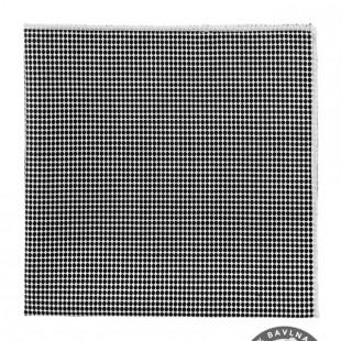Kapesníček AVANTGARD LUX, černo-bílá