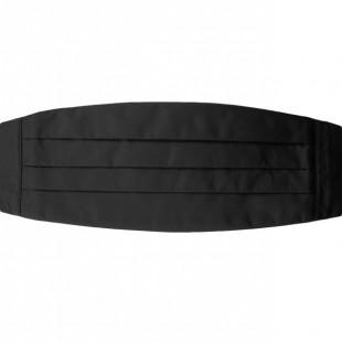 Smokingový pás, v23-černá