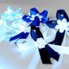 Vývazky tmavě modré